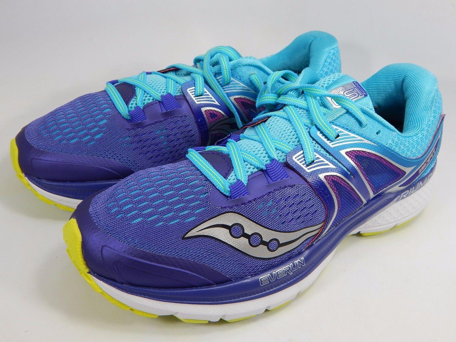 Saucony Triumph ISO 3 Women's Running Shoes Sz US 9.5 M (B) EU 41 Blue S10346-1