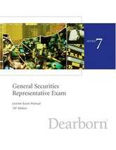 Series 7 General Securites Representative Exam License Exam Manual (Gene... - $75.24