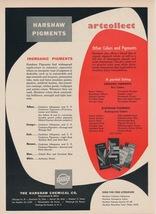 Original Vintage Ad (1957): Harshaw Chemical Co. / Reed Plastics Corpora... - $75.00