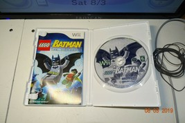 LEGO Batman The Video game Nintendo Wii w/ALL- Polished-Scratches-Case O... - $12.00