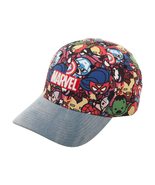 Marvel Comics 'Chibi / Kawaii Marvel Universe' Denim Bill New Cap / Hat - $11.88