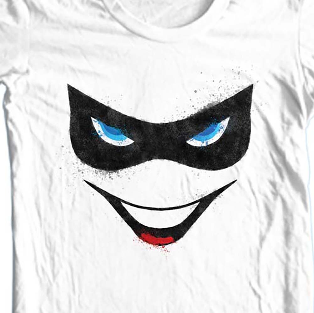 Harley Quinn T-shirt Joker Suicide Squad Batman superhero 100% cotton tee BM2241