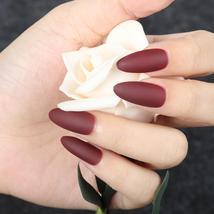 ROSALIND Nail Art Manicure 24pcs Matte Tips For False Nails Fake Nails F... - $7.35