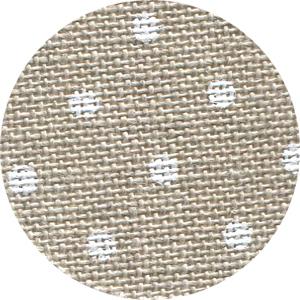 Natural white petit point