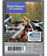 Birchwood Bonfire ScentSationals Scented Wax Cubes Tarts Melts Home Decor - $4.00