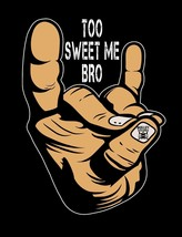 Bullet Club Too Sweet Me Bro Hand Signal Image Japan Pro-Wrestling T-Shirts - $20.78+