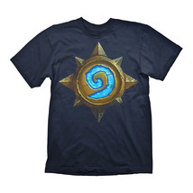 Official HEARTHSTONE Heroes of Warcraft Rose Logo T Shirt Gaming Gift - $26.50