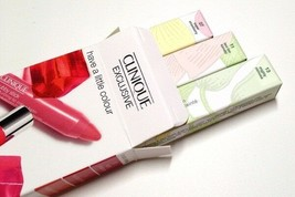 Clinique Exclusive Have A Little Colour Color Chubby Sticks For Lips Trio NIB 3! - $18.65