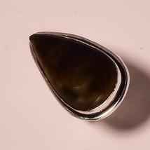 "Beautiful Tiger Eye Gemstone Fashion Ethnic Jewelry Ring S-7.50"" UK-194 - $3.66"