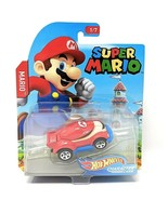 NEW SEALED 2017 Hot Wheels Character Super Mario Die Cast Car - $14.84