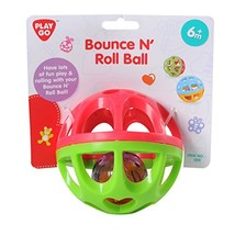PlayGo Bounce N' Roll Ball On A Header Card Styles May Vary Baby Toy - $11.59