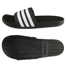 Adidas Adilette CF Plus Cloudfoam Slides Sandals Slipper Black AP9966 - $46.99