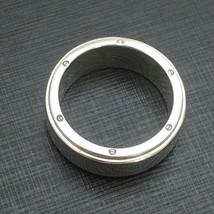 Tiffany & Co Sterling Silver Men's Unisex Metropolis Ring Size 10.5 - $249.00