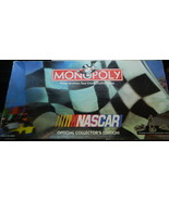 Nascar Monopoly Board Game-Complete - $16.00