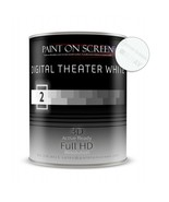 Projector Screen Paint - Digital Theater White-Quart Q002 - $178.00