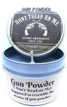 Gun Powder - 4 Oz All Natural Soy Candle Tin Approximate Burn Time 36 Hours - €5,78 EUR