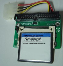"""256 Megabyte SSD Replace Vintage 3.5"""" IDE Drives with 40 PIN IDE SSD Card"""