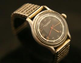 Strong running WWII vintage men's military Nastrix 17 jewel Swiss wristwatch - $84.15