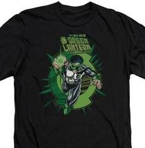 DC Comics Rayner Green Lantern Corps retro comics graphic black t-shirt GL273 image 2