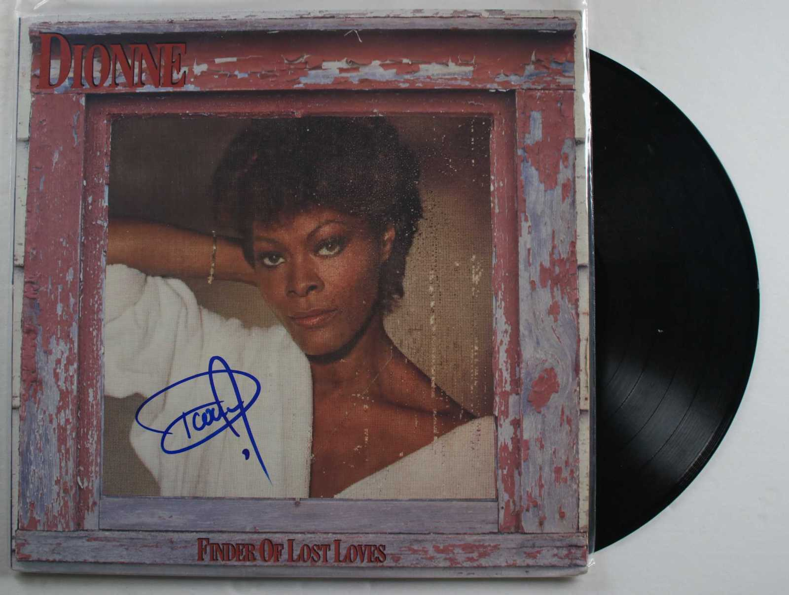 "Primary image for Dionne Warwick Signed Autographed ""Finder of Lost Loves"" Record Album"
