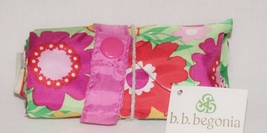 B. B. Begonia Floral Environmentally Friendly Self Storing Reusable Eco Bag - $5.00