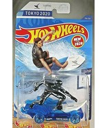2020 Hot Wheels #216 Olympic Games Tokyo 2020 1/10 SURF'S UP Blue w/Blue... - $7.95