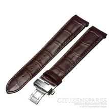 GENUINE CITIZEN BL8000-11X ECO-DRIVE BROWN TEXTURED LEATHER 20MM WATCH BAND - $54.99