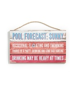 Sentiment Wall Sign, Pool - $25.99