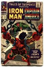 TALES OF SUSPENSE #85-comic book IRON MAN-CAPTAIN AMERICA VG- - $18.92