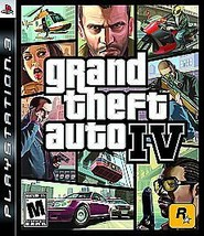 PLAYSTATION 3 PS3 GAME GRAND THEFT AUTO IV 4 Disc Only - $13.37