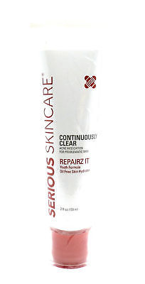 Primary image for Serious Skincare Continuously Clear Acne Medication Repairz It 2oz Exp 02/16