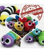 Slither.io 502 Assorted Styles Bendable Plush Toy 8inch Based On The Game - $7.52