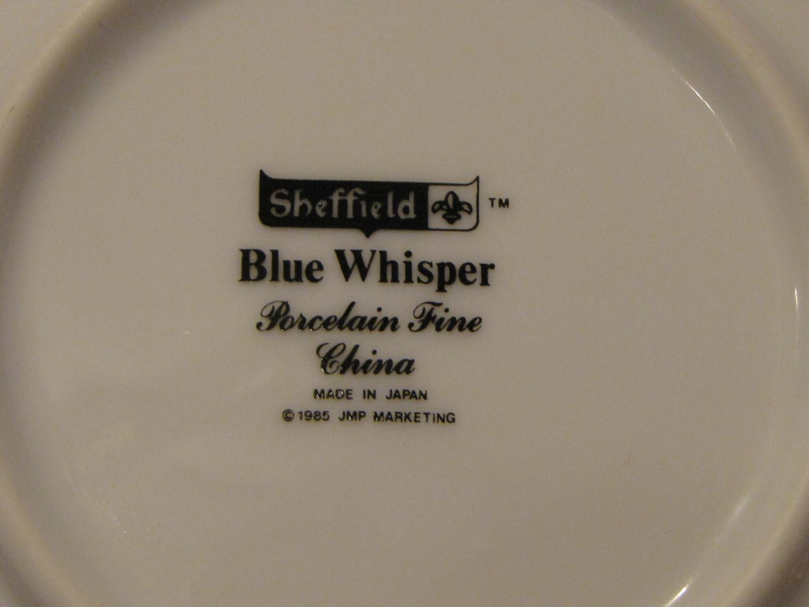 Sheffield Blue Whisper Berry Dessert Bowl