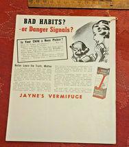 Vintage 1941 Jayne's Almanac Home Maker's Guide & Hand Book Useful Information image 4
