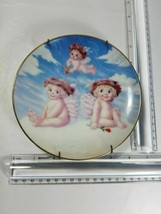 COLLECTOR'S PLATE, LOVE'S SHY GLANCE, HAMILTON COLLECTION BY KRISTIN,DRE... - $14.85