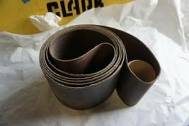 """4 pcs 6 x 168"""" 120 Grit Sanding Belts Aluminum Oxide - $49.99"""