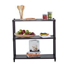 Dark Bronze 3 Tier Shelving Rack Kitchen Organi... - $57.41