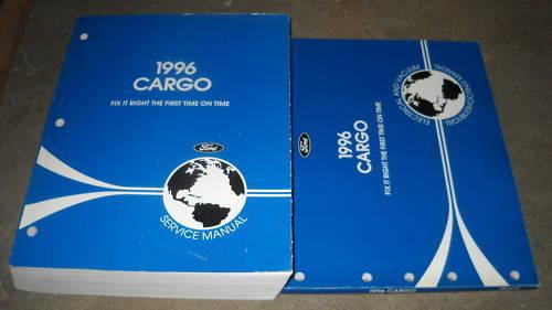 1996 Ford Cargo Truck Service Shop Repair Workshop Manual Set W EVTM