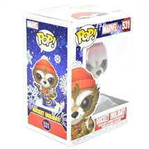 Funko Pop! Marvel Christmas Holiday Rocket Raccoon #531 Vinyl Bobble-Head Figure image 5
