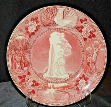 Collector's Plate Yellowstone Park AA20-7206 Vintage