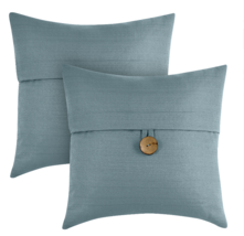Better Homes & Gardens Feather Filled Banded Button Decorative Throw Pil... - $32.88