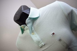 35373 New Mens Tommy Hilfiger Custom Blue Short Sleeve Golf Polo Shirt X... - $23.13
