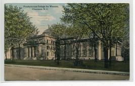 Presbyterian College for Women Charlotte North Carolina 1916 postcard - $6.93