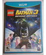 Nintendo Wii U - LEGO BATMAN 3 BEYOND GOTHAM (Complete with Manual) - $15.00