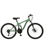 """Boy's 24"""" Major Mountain Pro Bike Off Road Tires 18-Speed Bicycle, Pine ... - $254.75"""