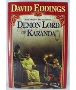 Demon Lord of Karanda Book 3 Malloreon David Eddings 1988 1st - $5.93