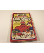 Spider-Man And The Marvel Heroes Rub n' Play Magic Transfer Set 1978 - $59.99