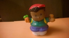 Fisher Price Little People Michael African American Boy Carrots Figure 2... - $4.50
