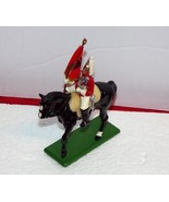 W. Britains Toy Soldier Set 41076 Life Guard Standard Bearer Mounted-MINT - $12.61