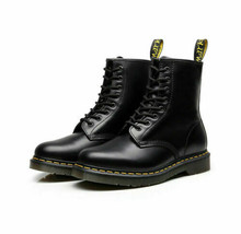 2019 NEW Dr Martens 8-Eye Classic Airwair 1460 Leather Ankle Boots Unisex - $33.98